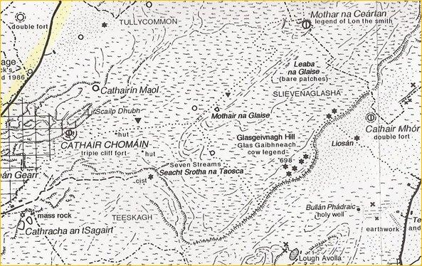 Clare Folklore - Glas Gaibhne of Burren