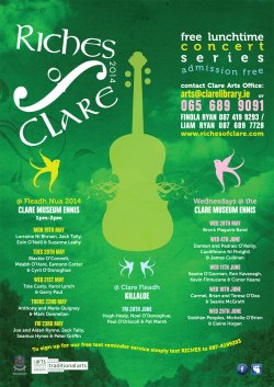 Riches of Clare Concerts 2014